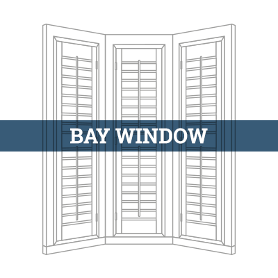 tailormade bay window shutter