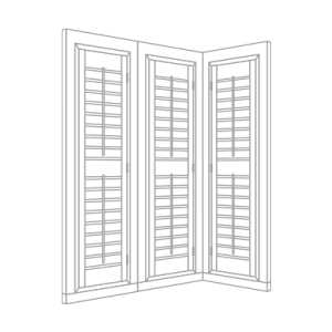 conservatory shutter by Tailormade Shutters