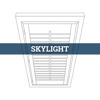 tailor-made skylight shutter
