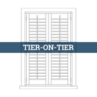 tailormade tier on tier shutter