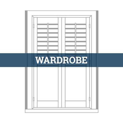 tailormade wardrobe shutter