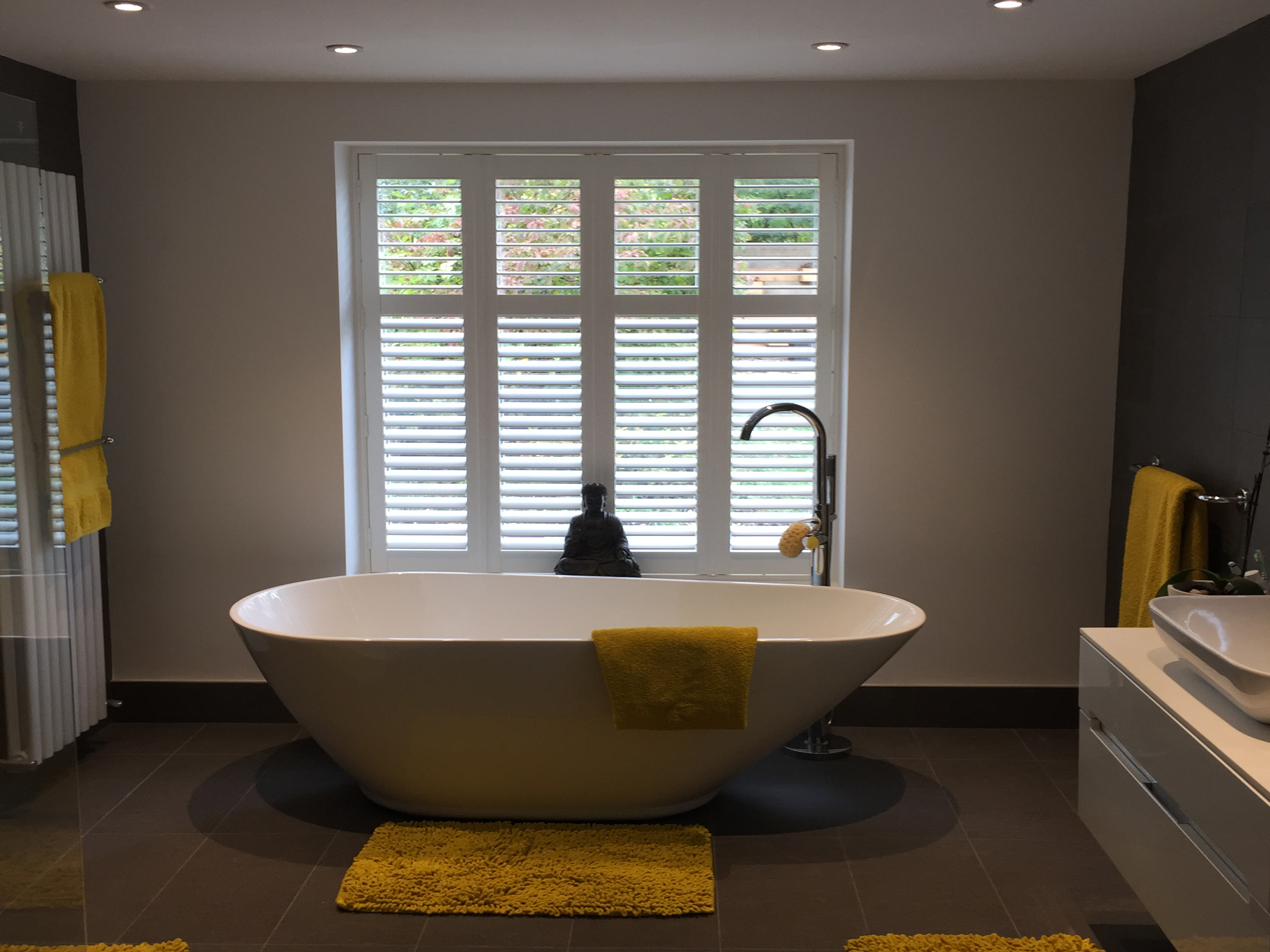 Plantation Shutters For Bathroom Tailormade Shutters